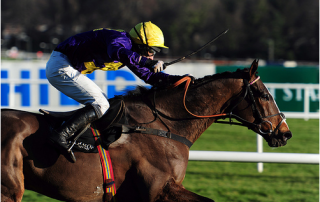 Lord Windermere winning at Leopardstown