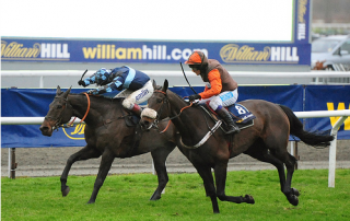Long Run getting up to win the 2012 King George