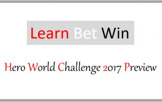 Hero World Challenge 2017 Preview