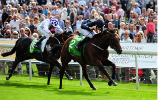 Declaration of War winning Juddmonte International
