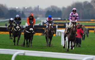 Silviniaco Conti winning the 2012 Betfair Chase
