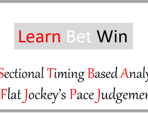 A Sectional Timing Based Analysis of Flat Jockeys Pace Judgement